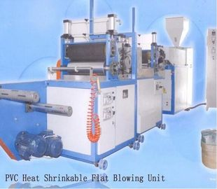China Fully Automatic PVC Film Blowing Machine With 20 - 40Kg/H Production Yield supplier