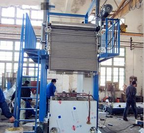 China Alloy Steel Structure Blow Film Making Machine Lift Blow Film Equipent 40-60kg/H Yield supplier