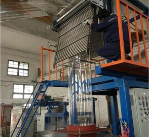 China High Efficiency PVC Shrink Film Blowing Machine supplier