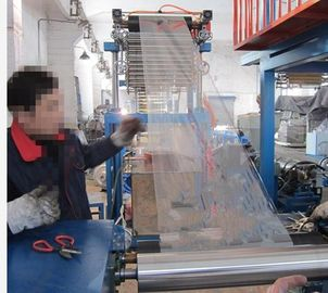 China Full Automatic PVC Shrink Film Blowing Machine Single Lift Blowing Unit SJ40-Sm500 supplier