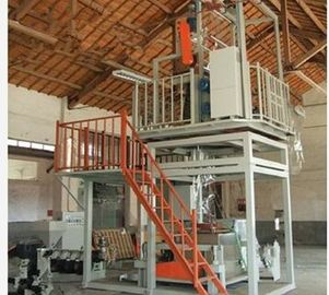 China Plastic Extrusion Process Plastic Film Manufacturing Machines 600-1000mm Width supplier
