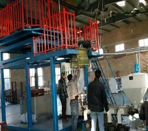 China Power Saving PVC Film Blowing Machine With Rotary Printing Label SJ55×28-Sm1000 supplier