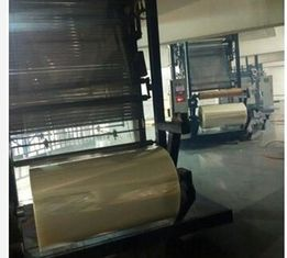China High Power Blown Film Line , Rotary Automatic Blowing Machine For PVC Film supplier
