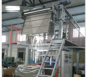 China Thermal Shrinkage PVC Film Blowing Machine High Output 70-80kg/H SJ65×29-Sm1200 supplier