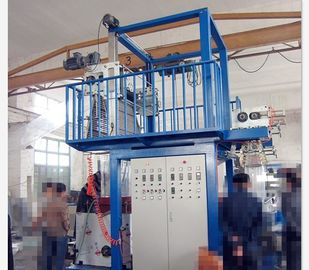 China No Vibration  Plastic Film Machine , PVC Heat Shrinkable Blown Film Plant supplier