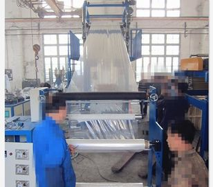 China Alloy Steel Structure Film Blown Machine , Pvc Cling Film Making Machine 37KW Power supplier