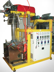 China Durable Used Blown Film Equipment , Vertical Pvc Film And Pvc Sheet Extrusion Machine supplier