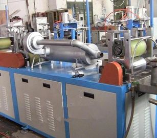 China Horizontal Plastic Film Blowing Machine With Tubular Electrical Heater factory