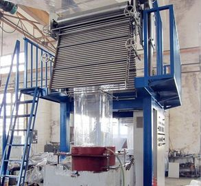 China Large PVC Blown Film Extrusion Machine Monolayer Blown Film Plant 30 - 45kg/H factory