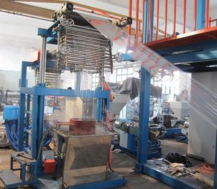 China High Speed Pvc Blown Film Machine With Wind Ring Spinning 9.5KW Heating Power distributor