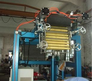 China 9.5KW Film Blowing Machine Thickness 0.025 - 0.07mm With Heating Water Tanks distributor