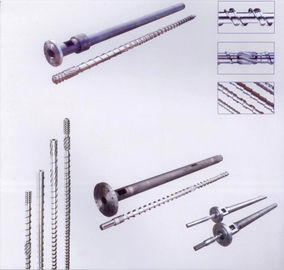 China Special screw for PVC film Blowing machine  Single screw and cylinder of extruder machine distributor