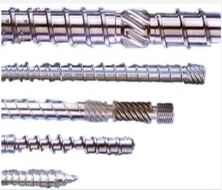 China Customized Size Extruder Screw Barrel For Plastic Extruder Machine Nitriding Treatment distributor