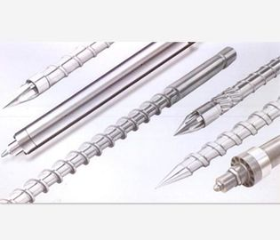 China High Speed Injection Moulding Machine Screw Barrel HRV 60-80 Nitrided Hardness distributor