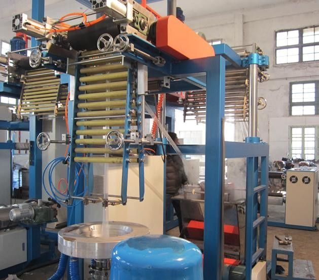 PVC  Blown Film Extrusion Machine For Packaging Film