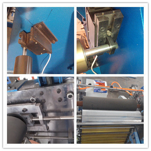 Alloy Steel Structure Film Blown Machine , Pvc Cling Film Making Machine 37KW Power
